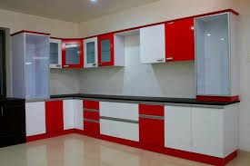 modular kitchen designs red white conexaowebmix com