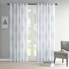 single panel sliding glass door curtains 84 95 inch