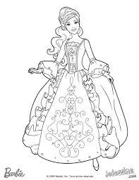 barbie princesse coloriage a colorier en ligne