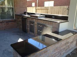Built In Kitchen Bench by How To Build An Outdoor Kitchen In Houston Tx