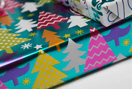 beautiful wrapping paper neon christmas gift wrap inspiration whsmith