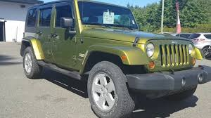 2007 green jeep wrangler 2007 jeep wrangler unlimited rescue green