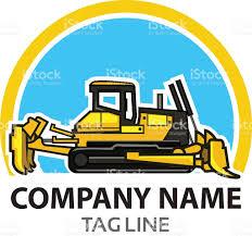 bulldozer logo stock vector art 501249824 istock