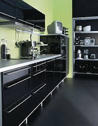cuisine laqué noir cuisine ikea noir laque