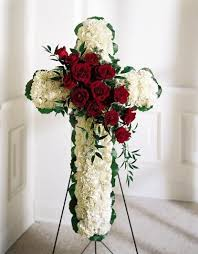 sympathy flowers delivery sympathy floral cross with spray carithers flowers