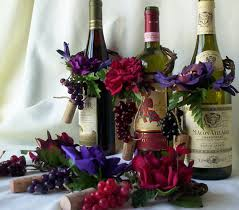 Burgundy Wedding Centerpieces by Wedding Centerpieces Amorebride Wine Bottle Toppers Set Of 4