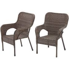 Stackable Patio Furniture Set Better Homes And Gardens Camrose Farmhouse Mix And Match Stacking