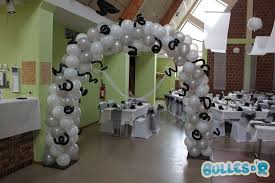 decoration mariage noir et blanc bullesdr décoration de mariage en ballons à batzendorf 67500 alsace