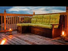 Build Outdoor Sectional Sofa How To Build A Cozy 2x4 Sectional Sofa For Your Outdoor Living