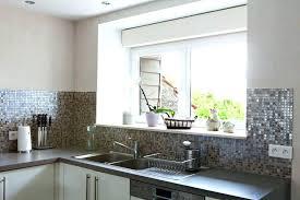 credence cuisine autocollante mosaique pour credence cuisine stunning stickers blanc cuisine