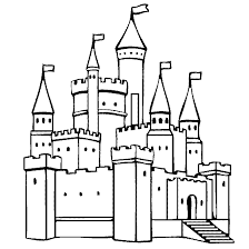 Castle Coloring Pages To Print Coloringstar Coloring Pages Castles