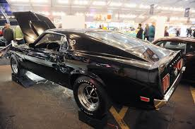 Black 69 Mustang Fastback 1969 Ford Mustang Boss 429 Sells For 275 000 Muscle Cars Zone