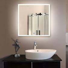 Illuminated Led Bathroom Mirrors by Bathroom Lighted Mirrors Ebay