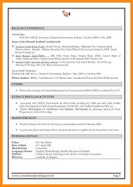10 sample resume formats for experienced azzurra castle grenada