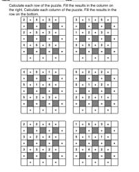 worksheet math puzzle games worksheets printables printable math