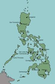cities map test your geography knowledge philippines major cities lizard