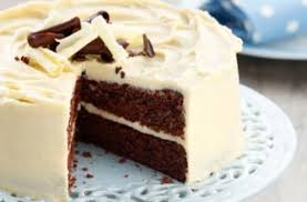 white chocolate butter cake