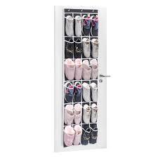 shoe rack hanging over the door shoe organizer maidmax 24 mesh pockets single sided