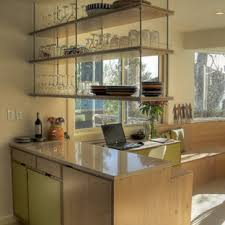 where to buy glass shelves for kitchen cabinets hanging glass shelves houzz
