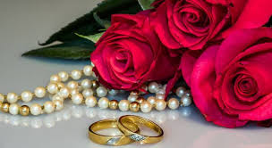 wedding anniversary colors flowers u0026 jewelry