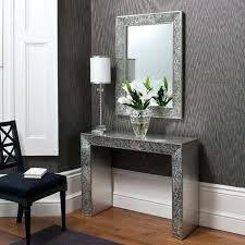 hall console table and mirror set hallway table and mirror ikea