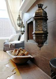 Moroccan Home Decor And Interior Design House Interior With Moroccan Hanging Lanterns Bold And Vibrant