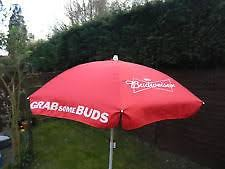 Budweiser Patio Umbrella Budweiser Garden Parasol Umbrella 514550158