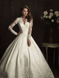 wedding dresses traditional dresses with sleeves and lace