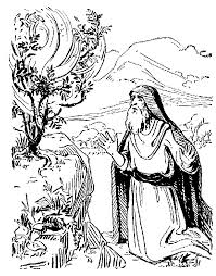 Moses And The Burning Bush That Did Not Burn By Linda Sue Bible Coloring Pages Moses