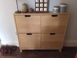 ikea stall ikea stall shoe cabinet birch veneer in holywell flintshire