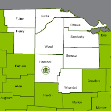 Urbana Ohio Map by Ohio Dnr Forestry Service Foresters