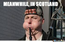 Scottish Meme - meanwhile in scotland by publicenemy meme center