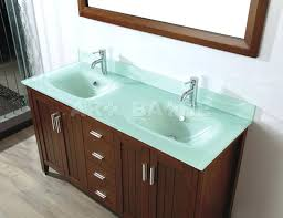integrated sink vanity top glass sink top meetly co