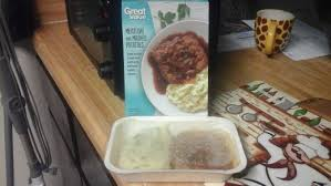 a review of 6 frozen meatloaf dinners delishably