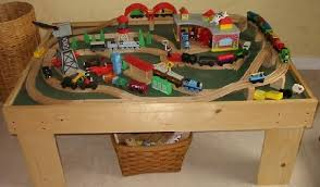 thomas the train wooden table alex needs this so i can have my coffee table back christmas