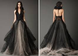 black wedding dress 18 beautiful black wedding dresses brit co