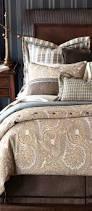 simple classic bedroom with dark blue white bedding sets hampton