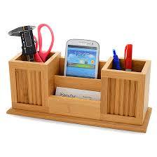 Bamboo Desk Organizer Bamboo Pencil Cup Desktop Organizer Executive Gift Shoppe