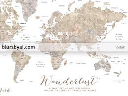World Maps With Countries by Personalized Printable World Map With Countries And States