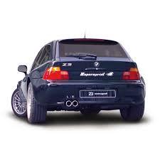 bmw z3 wagon bmw z3 coupé 3 0i 01 02 bmw exhaust systems