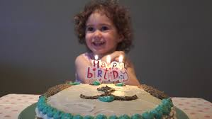 happy birthday baby with cake stock footage video 7151248