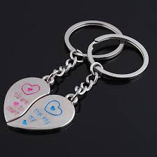 key to my heart gifts one pair lover keychains you are the key to my heart