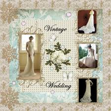 Wedding Scrapbook Page Vintage Wedding Digital Scrapbooking At Scrapbook Flair