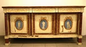 credenza impero credenza emilia in stile impero in legno laccato decoro a