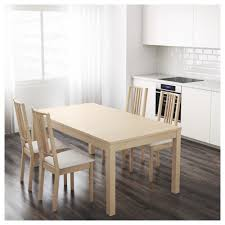 Ikea Tables And Chairs by Bjursta Extendable Table Birch Veneer Ikea
