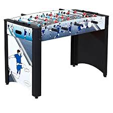 amazon com foosball table amazon com harvil 4 foot striker foosball table with safety