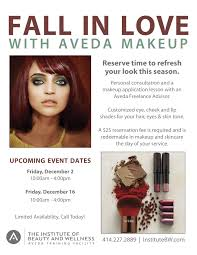 makeup classes milwaukee institute of beauty and wellness fall in with aveda makeup