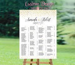 Guest List Spreadsheet Template Wedding Seating Chart Template Wedding Seating Chart Poster