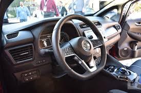 nissan leaf 2017 interior 2018 nissan leaf first drive review digital trends