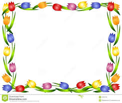 floral borders clipart for free clipart collection spring